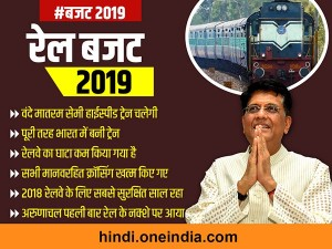 Rail Budget 2019 Vande Bharat Express Gives World Class Railway