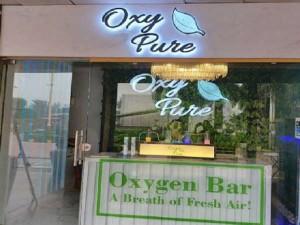 Oxy Pure Oxygen Bar Open In Delhi Business Of Selling Pure Oxygen Started In Delhi