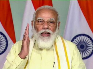 Pm Modi At India Mobile Congress Said Every Village Will Have High Speed Internet In Three Years