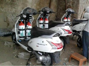 Install Cng Kit In Honda Activa You Will Get Very Good Mileage