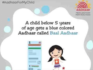 Get Blue Aadhaar Card Made For Children Below 5 Years Know The Whole Process